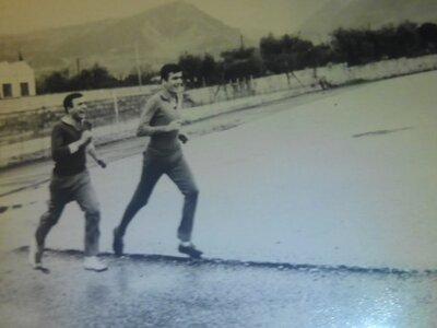 Προπόνηση στο γήπεδο του ΚΕΤΧ στην Πάτρα