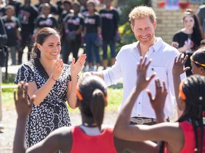 Μέγκαν, Χάρι και Άρτσι στην Αφρική! ΦΩΤΟ