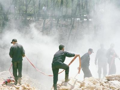 Αχαΐα:Σε ύφεση η φωτιά στην Ακράτα - Σε ...
