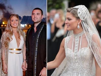 Γάμος απίστευτης χλιδής για το γιο του couturier Elie Saab στο Λίβανο