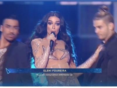 Καλύτερη όλων και φέτος η Ελένη Φουρέιρα στην Eurovision - Δείτε βίντεο από το Τελ Αβίβ