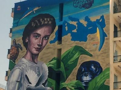 Αποκάλυψη τώρα! Το γεμάτο συμβολισμούς graffity για τους Μεσογειακούς αγώνες της Πάτρας!