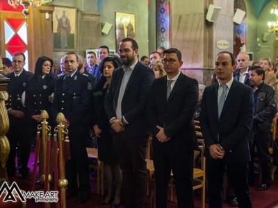 Ο Περιφερειάρχης Ν. Φαρμάκης στον Αστακό για τη γιορτή του Αγίου Νικολάου
