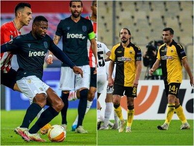 Βραδιά «αντίο» για ΑΕΚ και ΠΑΟΚ στο Europa League