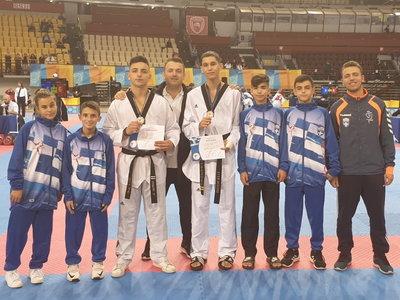 Δύο μετάλλια οι αθλητές της Έκρηξης