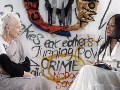 Οι Βίβιαν Γουέστγουντ & Ναόμι Κάμπελ συνομίλησαν για την κλιματική αλλαγή