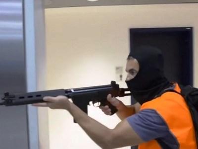 Σενάριο επίθεσης τρομοκρατών στο αεροδρό...