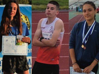 Τρεις νέοι Πατρινοί στην εθνική ομάδα στίβου