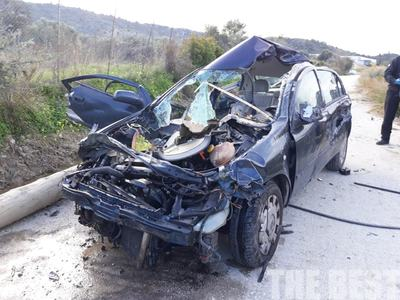 Καθηγητές στο Γεν. Λύκειο Λεχαινών οι δύο νεκροί στο τροχαίο δυστύχημα στα Καμίνια στην Πατρών-Πύργου- Δύο ακόμη καθηγητές τραυματισμένοι - Κλειστά αύριο τα σχολεία στο Δήμο Ανδραβίδας-Κυλλήνης- Θλίψη στον εκπαιδευτικό κόσμο Ηλείας και Αχαΐας
