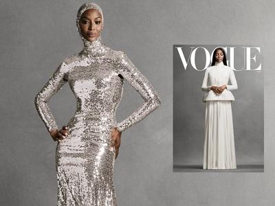 Εκτυφλωτική η Ναόμι Κάμπελ στη Vogue ως ...
