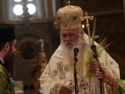 """Αρχιεπίσκοπος Ιερώνυμος: """"Η εκκλησί..."""