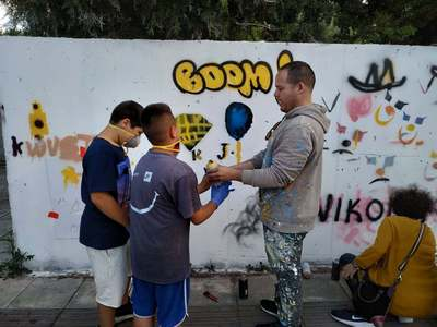 Την Τετάρτη το νέο εκπαιδευτικό πρόγραμμα του 4ου Διεθνούς Street Art Festival Patras