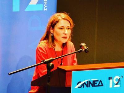 Νέο δυναμικό ξεκίνημα ζήτησε η Χριστίνα Αλεξοπούλου στο προσυνέδριο της ΟΝΝΕΔ στην Πάτρα