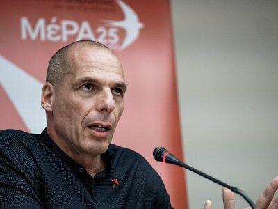 Γ. Βαρουφάκης: Μόνο το ΜέΡΑ25 καταψήφισε...