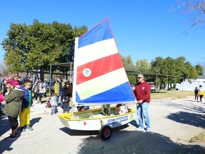 «Ταξιδεύοντας με ανοιχτά πανιά» - Σύνδεση του Καρναβαλιού με τον ναυταθλητισμό