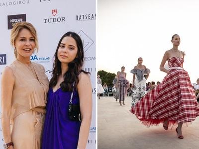 Φλας στο Haute Grecians Show με τη σφραγίδα της Τζένης Μπαλατσινού