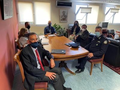 Σύσκεψη στο γραφείο του Αντιπεριφερειάρχ...