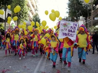 Οι δρόμοι της Πάτρας γέμισαν χρώματα και παιδικά χαμόγελα!