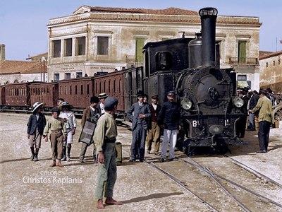 Το πρώτο τρένο που ένωσε την Πάτρα με την Αθήνα - Το βλέπετε και σήμερα στην Όθωνος Αμαλίας