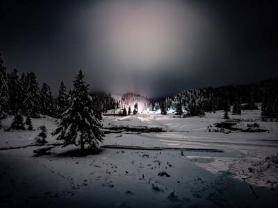 Πανσέληνος και χιόνι χάρισαν μία μαγική ...