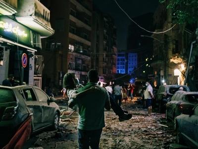 Βηρυτός: 10 συγκλονιστικές φωτογραφίες τ...
