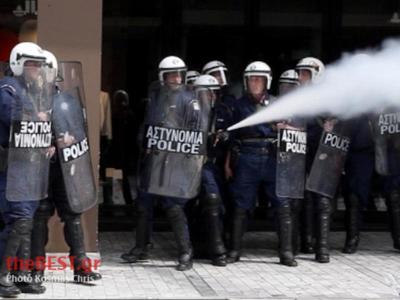 Πάτρα:Πήραν στο...κατόπι τους αστυνομικούς!-Όλα όσα συνέβησαν απο το πρωί στην παρέλαση- Δείτε φωτό και βίντεο