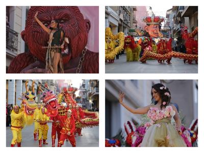 Η νυχτερινή ποδαράτη παρέλαση του Πατρινού Καρναβαλιού - ΟΙ ΠΡΩΤΕΣ 100+ ΦΩΤΟ