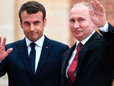 Πούτιν και Μακρόν συζητήσαν για την κατά...