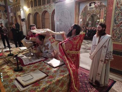 Στον Άγιο Βασίλειο Βραχνεΐκων λειτούργησε το πρωί της Πρωτοχρονιάς ο Επίσκοπος Χρύσανθος -ΔΕΙΤΕ ΦΩΤO
