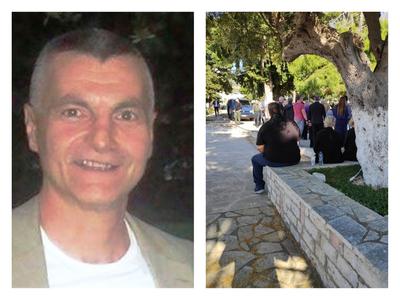 Βουβός πόνος στην κηδεία του Λάζαρου Μιχαλόπουλου