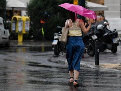 Καιρικό αμόκ! Καταιγίδες και χαλάζι από αύριο - Έκτακτο δελτίο της ΕΜΥ