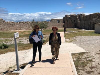 Αυτοψία στο Κάστρο του Ρίου, τον αρχαιολογικό χώρο της Βούντενης και στο κάστρο της Πάτρας