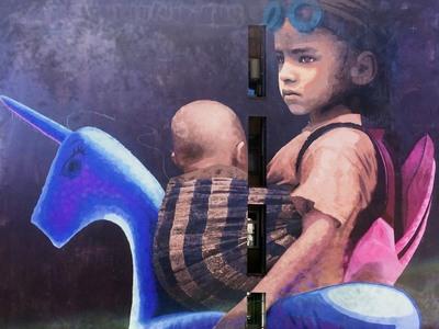 Το πιο συγκινητικό γκράφιτι για το μεταναστευτικό είναι στην Πάτρα - ΔΕΙΤΕ το