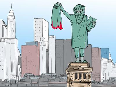 Οι Ταλιμπάν και η ματωμένη μπούρκα με το...