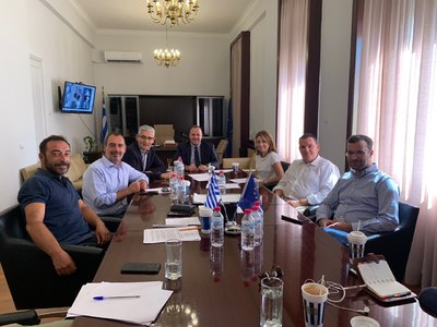 Δάνεια & Φράγμα Πείρου-Παραπείρου συζητήθηκαν στο Επιμελητήριο Αχαΐας με κυβερνητικούς βουλευτές
