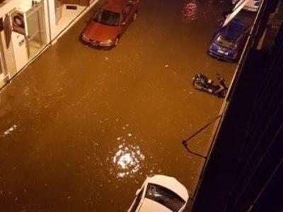 Ναύπακτος: 55 άτομα διέσωσε τα ξημερώματα η Πυροσβεστική
