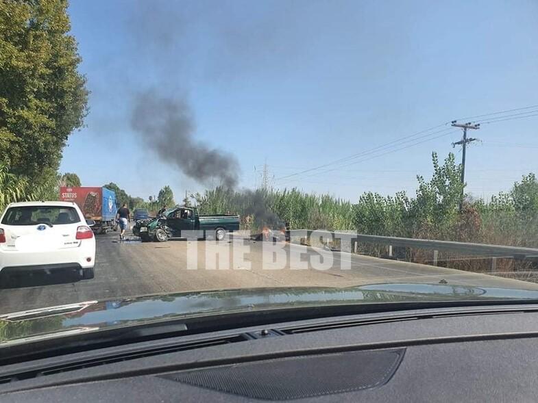 Ηλεία: Νεκρός 27χρονος οδηγός μηχανής σε θανατηφόρο τροχαίο σε σύγκρουση αγροτικού οχήματος με δίκυκλο στο ύψος του Λευκοχωρίου στην Ε.Ο. Πατρών- Πύργου